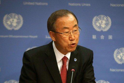 بان كي مون: مؤتمر السلام الخاص بسورية قد يعقد الشهر القادم