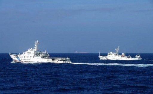 سفن خفر السواحل الصينية تدخل المياه المتنازع عليها مع اليابان