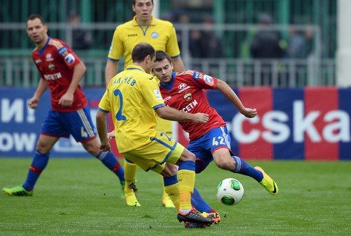 تسيسكا موسكو يهزم روستوف ويبتعد بصدارة الدوري الروسي