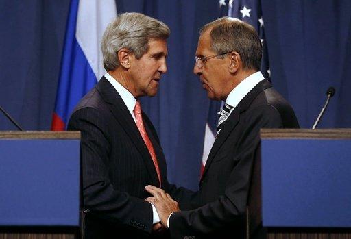 موسكو وواشنطن تؤكدان ضرورة تدمير الكيميائي خارج سورية في النصف الأول من عام 2014