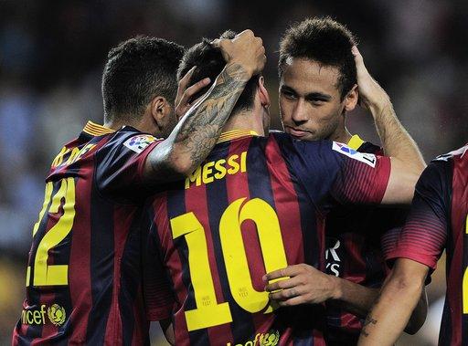 برشلونة ينجو من كمين إشبيلية بهدف سانشيز