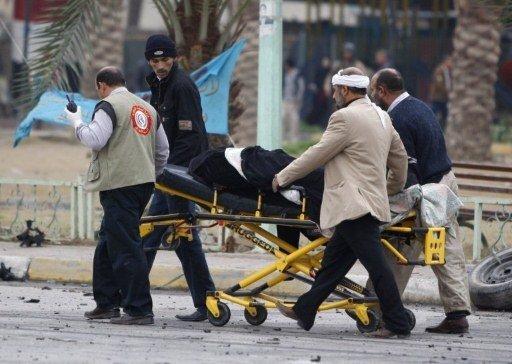 عشرات القتلى والجرحى بسلسلة تفجيرات في العراق