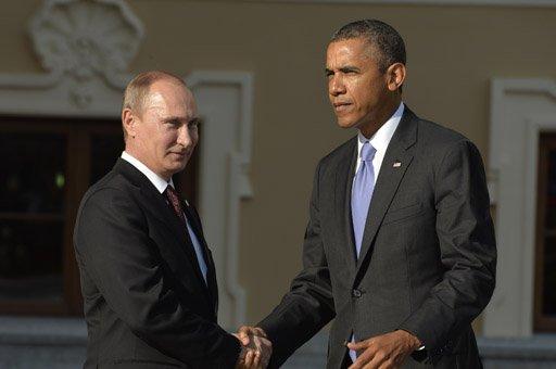 أوباما: نرحب بجهود بوتين الدبلوماسية في حل ازمة الكيميائي بسورية