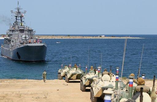 سفينة إنزال روسية أخرى تتوجه الى البحر الأبيض المتوسط نهاية الشهر الجاري