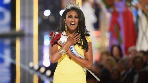حسناء من أصل هندي تتربع على عرش الجمال الأمريكي لعام 2014