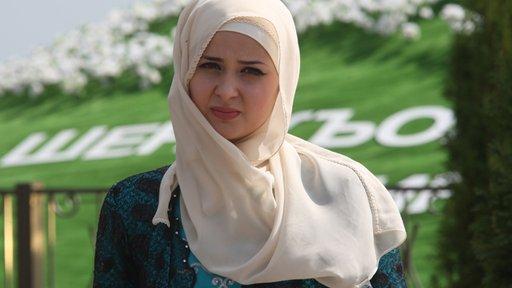 الاحتفال بيوم المرأة الشيشانية في غروزني