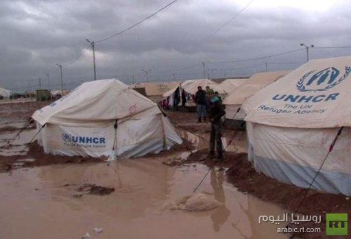 ارتفاع معدل اللاجئين السوريين إلى الأردن إلى 900 شخص يوميا