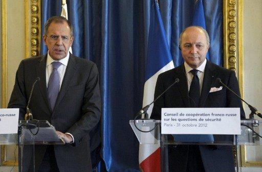 الملف الكيميائي السوري في صلب اهتمام محادثات لافروف وفابيوس في موسكو