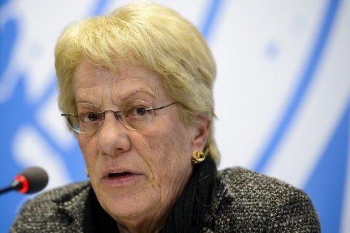 كارلا ديل بونتي:نصف مقاتلي المعارضة السورية متشددون