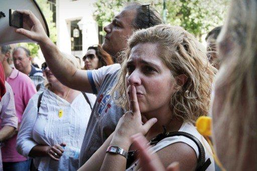 موجة من الاحتجاجات في اليونان على خلفية خسارة مزيد من الوظائف