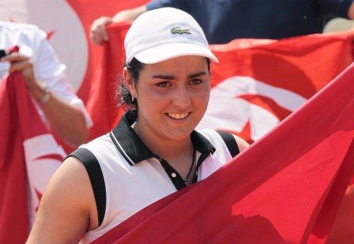 التونسية أُنس جابر تبلغ ثاني أدوار دورة سيئول للتنس