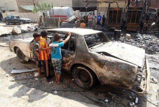 مقتل 38 شخصا واصابة العشرات بسلسلة انفجارات تضرب مدن العراق
