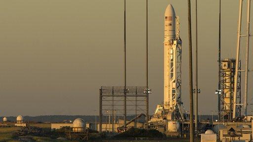 إطلاق مركبة أمريكية إلى الفضاء بواسطة محركات روسية
