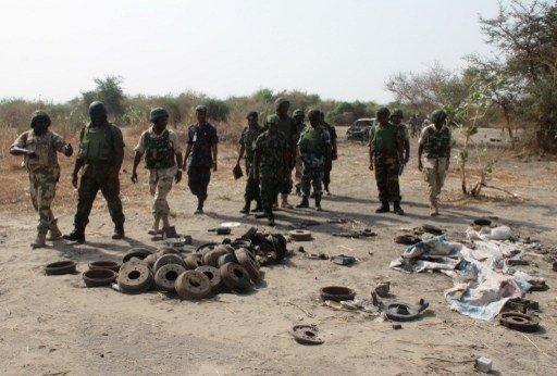 مقتل 150 مسلحا و16 جنديا نيجيرياً في هجوم على معسكر لـ