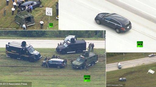 بالفيديو .. مطاردة وإطلاق رصاص حي في فلوريدا يسفر عن مقتل شخصين
