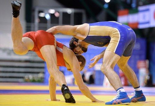 روسيا ثانية في بطولة العالم للمصارعة الحرة