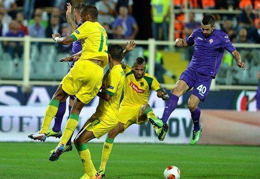 فيورنتينا يهزم ضيفه باكوس البرتغالي بثلاثية في