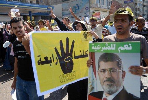 اشتباكات بين مسيرات مؤيدة للاخوان وأخرى داعمة للجيش في مدن مصرية