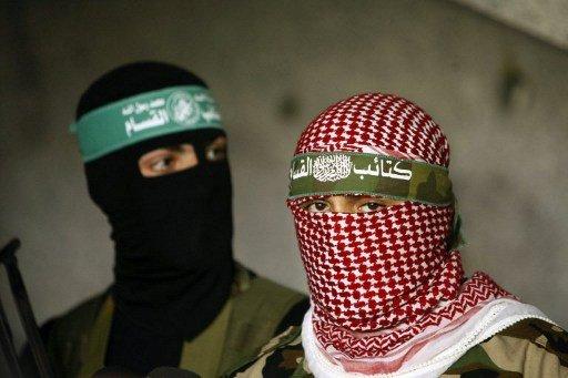 عرض عسكري لكتائب عز الدين القسام في غزة