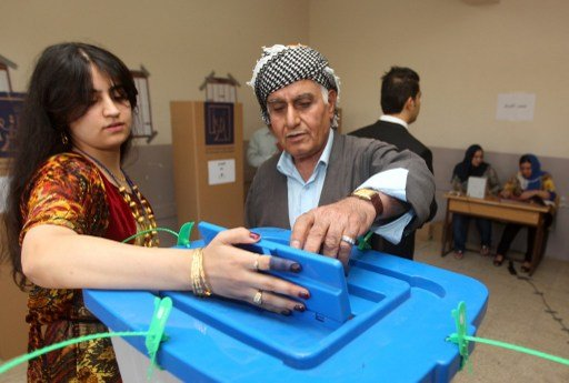 اغلاق صناديق الاقتراع في الانتخابات التشريعية بكردستان العراق