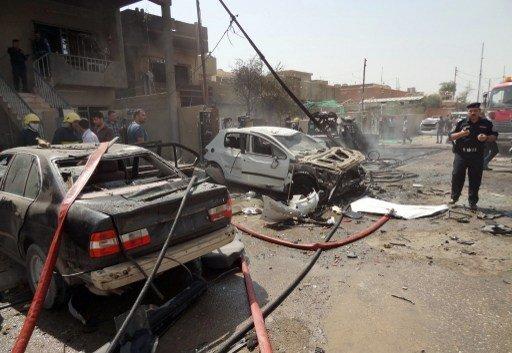 مراسلنا: مقتل 5 من عناصر الأمن واصابة 15 آخرين بانفجار عبوتين ناسفتين جنوب الموصل