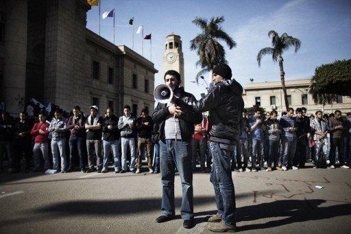 وقفات احتجاجية مؤيدة للإخوان المسلمين في جامعات مصرية
