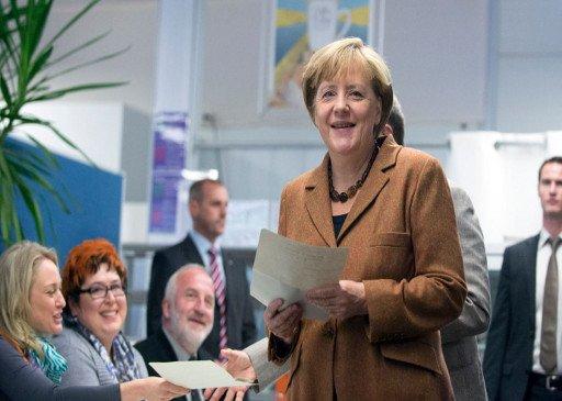 حزب ميركل يفوز في الانتخابات التشريعية الألمانية