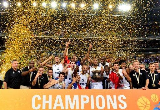 فرنسا بطلة لأوروبا بكرة السلة لأول مرة في تاريخها