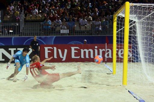روسيا تواجه إيران في ربع نهائي مونديال كرة القدم الشاطئية