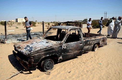 الجيش المصري يعلن تدمير 13 نقطة للإرهابيين في شمال سيناء واعتقال 8 منهم