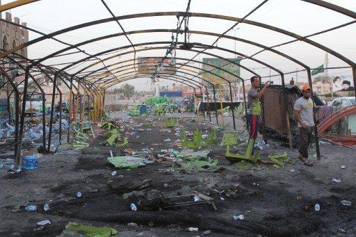 عشرات القتلى والجرحى في استهداف مجلس عزاء شمال بغداد