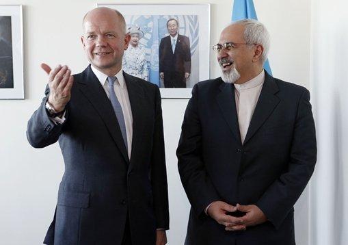 هيغ بعد لقاء ظريف: طهران قد تلعب دورا بناء في الملف السوري