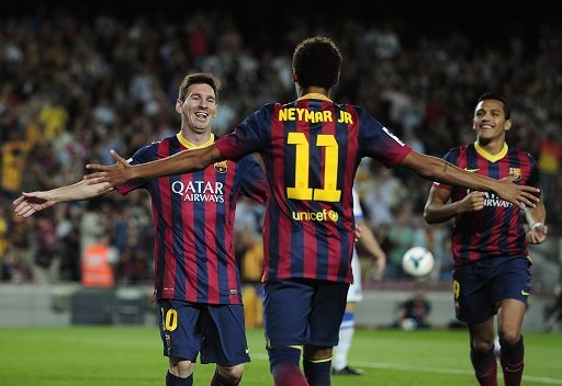 برشلونة يقسو على ضيفه ريال سوسييداد