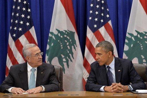 أوباما يلتقي سيلمان ويقدم 8 ملايين دولار دعما للجيش اللبناني
