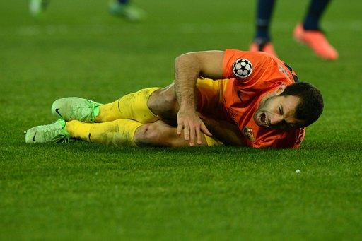 لعنة الإصابات تتوغل في دفاعات برشلونة