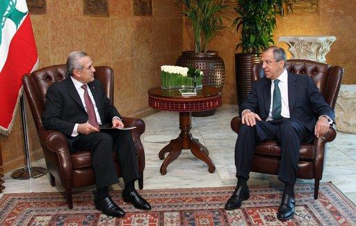 لافروف يؤكد لسليمان دعم روسيا لسيادة واستقلال ووحدة أراضي لبنان