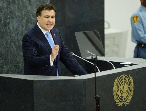 الوفد الروسي يغادر جلسة الجمعية العامة الأممية احتجاجا على كلمة رئيس جورجيا