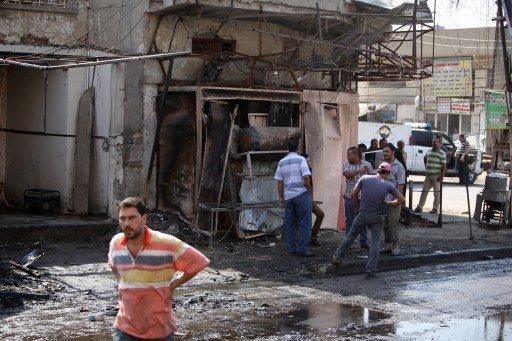 مقتل 22 شخصاً في سلسلة تفجيرات بعبوات ناسفة في بغداد