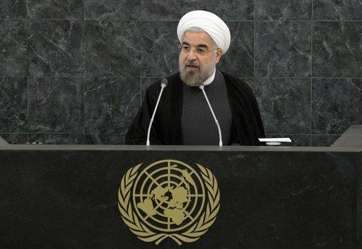 روحاني: يجب ألا تمتلك أي دولة سلاحا نوويا