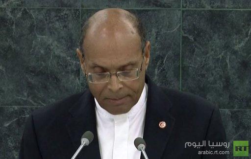 رئيس تونس يطالب القاهرة من منصة الأمم المتحدة بإطلاق سراح محمد مرسي