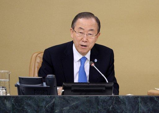 بان كي مون يعقد الجمعة لقاء تحضيريا للمؤتمر الدولي حول سورية