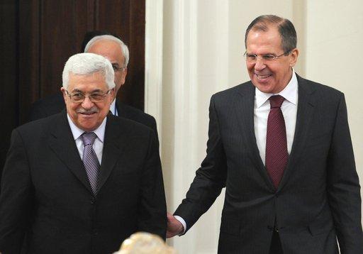 لافروف: روسيا ستواصل دعم عملية التفاوض بين الفلسطينيين والاسرائيليين