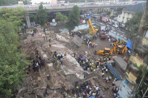 مقتل 13 شخصا بعد انهيار مبنى في مومباي
