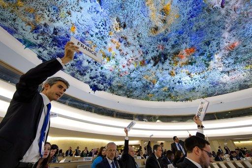 قرار لمجلس حقوق الانسان للامم المتحدة يدين بشدة استخدام السلاح الكيميائي في سورية