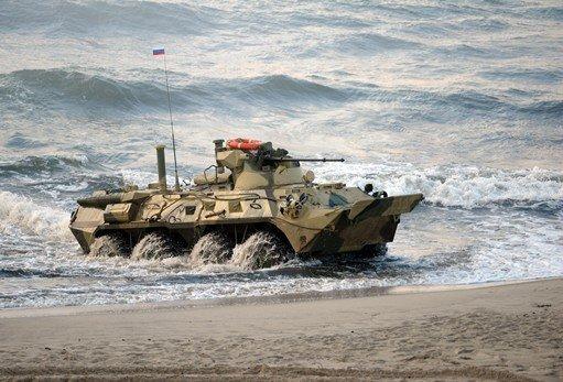 وزارة الدفاع الروسية تعلن إجراء مناورات استراتيجية كبيرة النطاق في الشرق الأقصى عام 2014