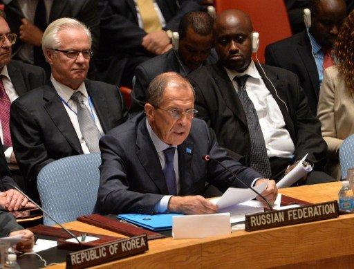 لافروف: قرار مجلس الأمن حول الكيميائي السوري لا يخضع للفصل السابع