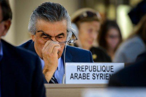 مندوب سورية الدائم في جنيف: قرار مجلس حقوق الإنسان
