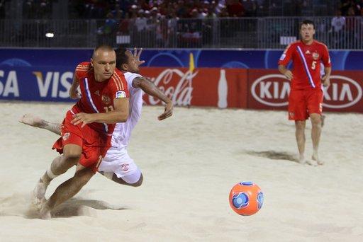 روسيا وإسبانيا في نهائي مونديال كرة القدم الشاطئية