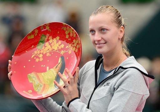 كفيتوفا تحرز لقب دورة طوكيو للتنس