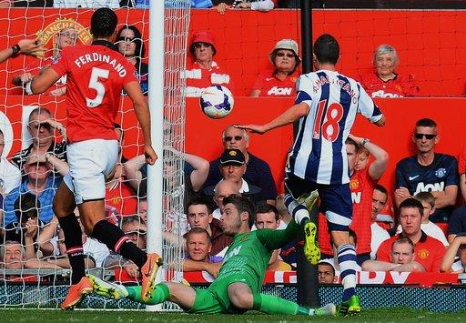 ويست بروميتش يلقن مانشستر يونايتد درساً في عقر داره